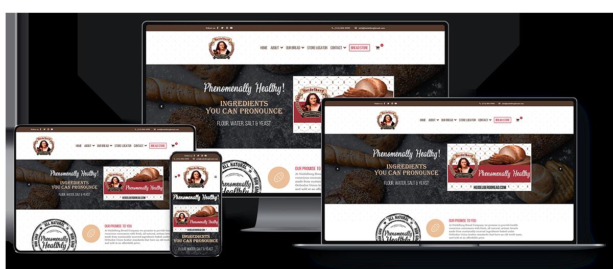 Heidelberg Bread Responsive Website
